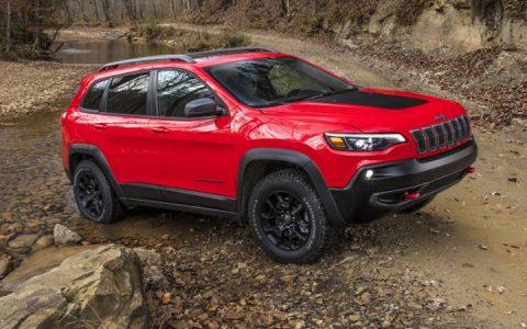 Новый дизайн Jeep Grand Cherokee 2019