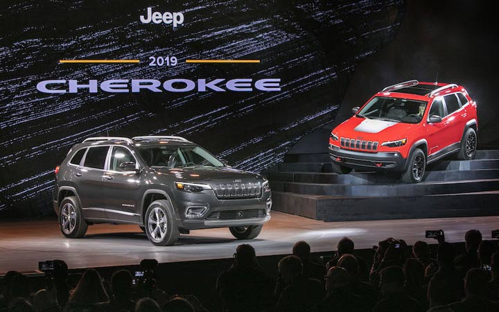 Презентация Jeep Grand Cherokee 2019