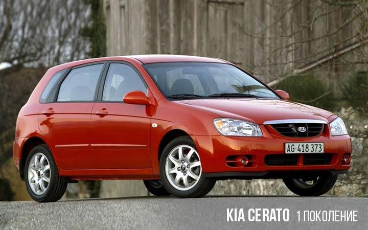 Kia Cerato 1 поколение