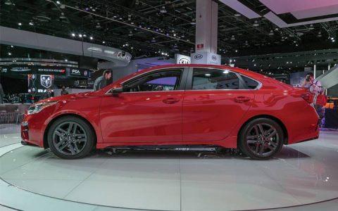Новый кузов Kia Forte 2019