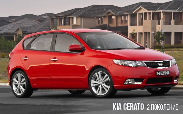Kia Cerato (Forrte) 2 поколение