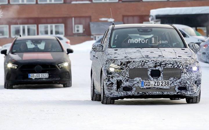 Mercedes B-class новинка 2019 года