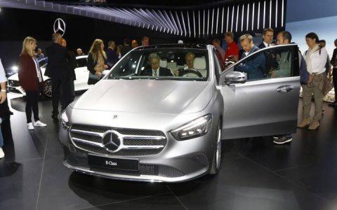 Новый пятиместный Mercedes B-class 2019