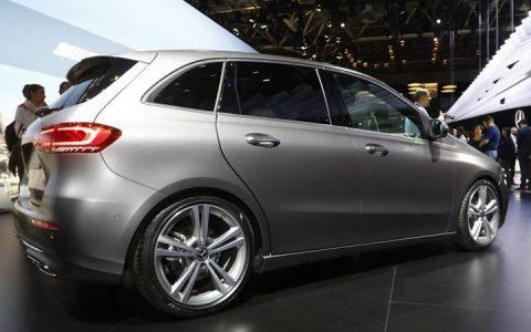 Новый дизайн Mercedes B-class 2019