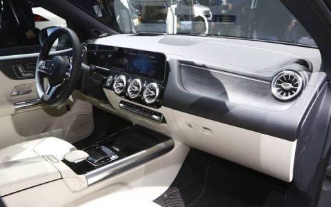 В салоне Mercedes B-class 2019 года
