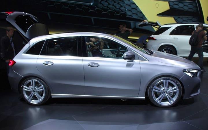Премьера Mercedes B-class 2019 года