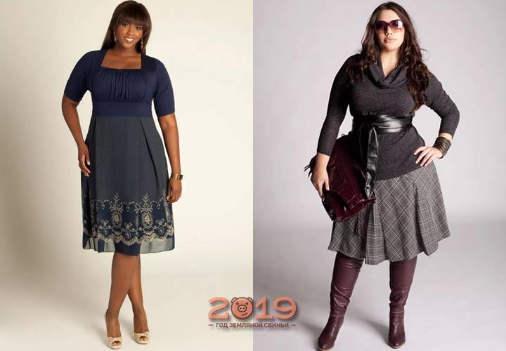 Трендовые вещи для пышных женщин 2018-2019