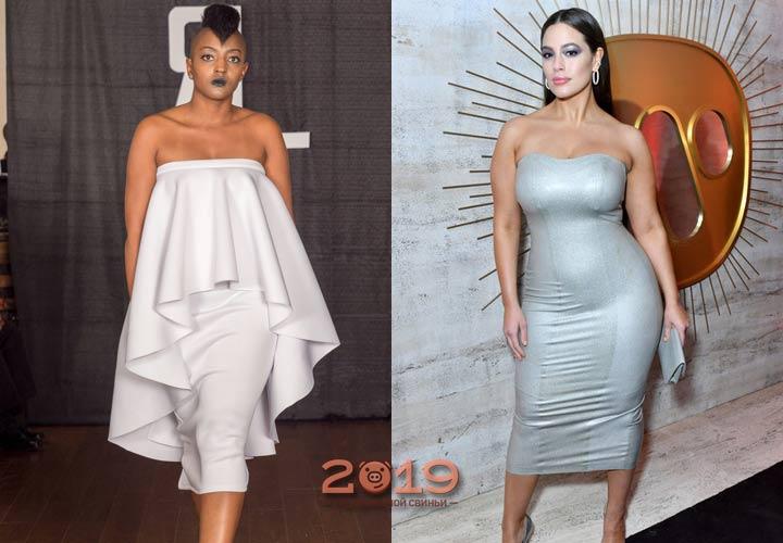 Красивое платье для полных 2018-2019