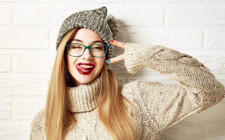 Модные вязаные шапки 2018 года