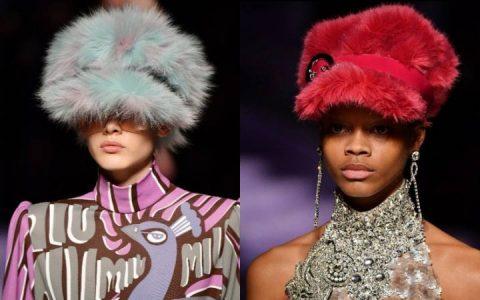 Необычные шапки 2018 года