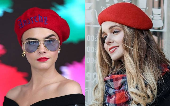 Модные головные уборы сезона 2018-2019 года, мода, фото