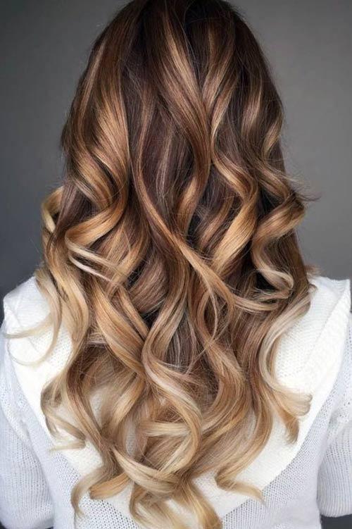 92b0a28dd0d Красивые блестящие волосы · Модный блеск длинных волос 2018-2019