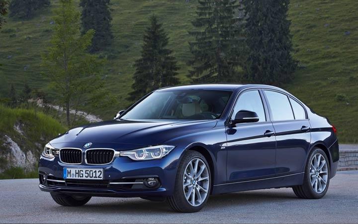BMW 3-series 2019 года