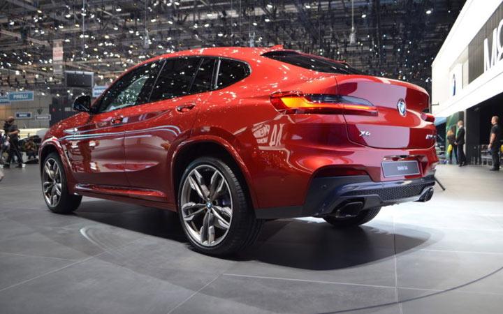 BMW X4 Женевский автосалон 2018