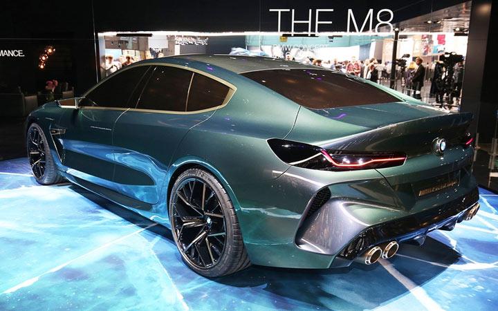 BMW 8 Женева 2018