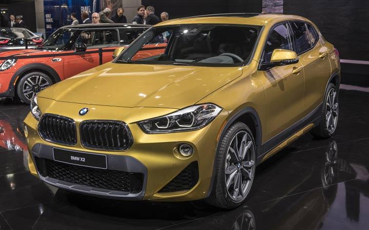 BMW X2 2019 года