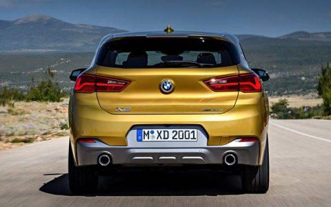 Задний бампер BMW X2 2019