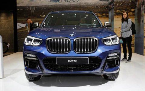 Экстерьер BMW X3 2018-2019
