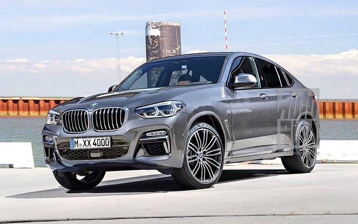 Новый BMW X4 2018-2019