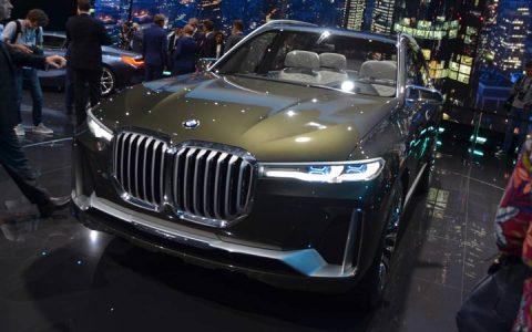 Экстерьер BMW X7 2019