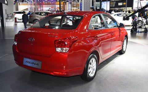 Рестайлинг Hyundai Reina 2018-2019