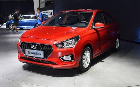 Экстерьер Hyundai Reina 2018-2019