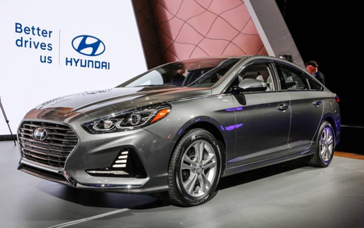 Hyundai Sonata 2018-2019 года