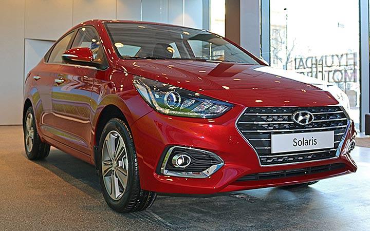 Hyundai Solaris 2018-2019