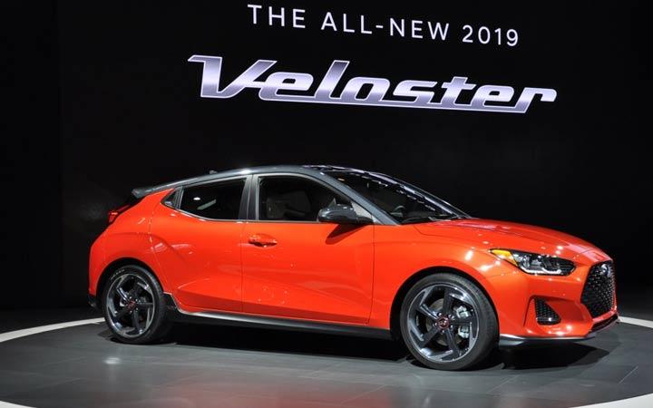 Hyundai Veloster 2019 года дебютировал в Детройте