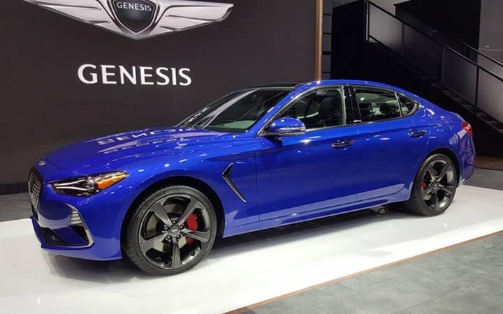 Genesis G70 2018-2019 Montreal Auto Show