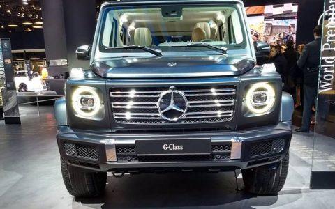 Головная оптика Mercedes G-Class 2019