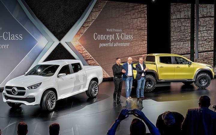Премьера Mercedes X-Class 2019