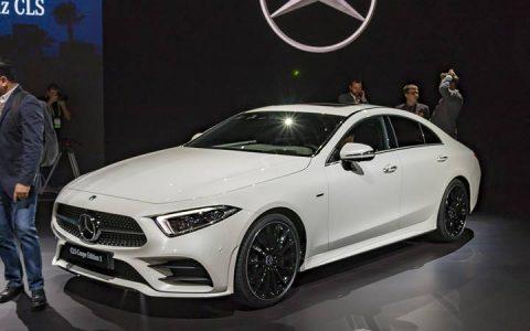 Экстерьер Mercedes CLS 2019