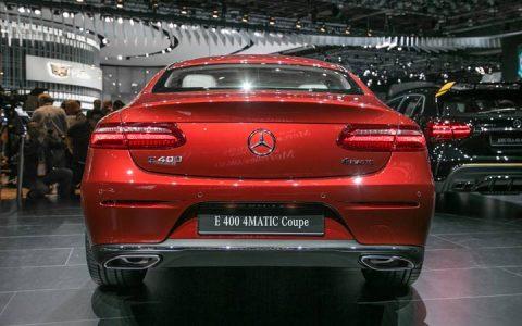 Экстерьер Mercedes E-class E-400 4MATIC 2019