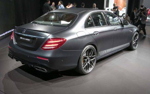 Экстерьер Mercedes AMG E63 2019