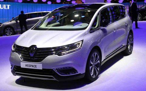 Renault Espace 2018-2019