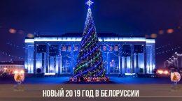 Новый 2019 год в Белоруссии