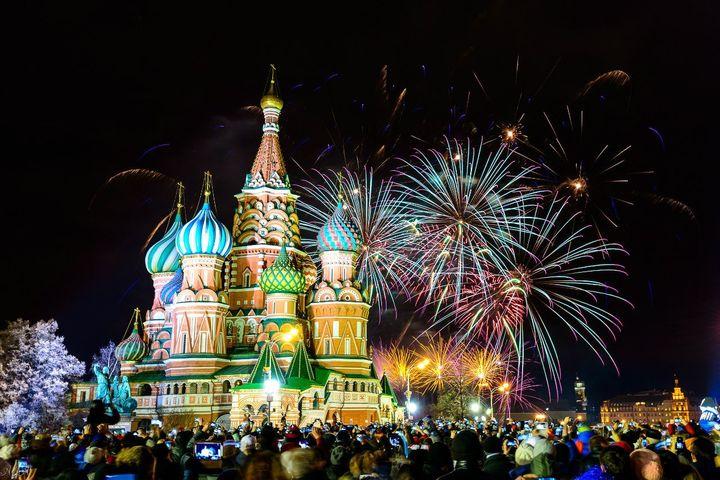 Новый год 2019 в Москве
