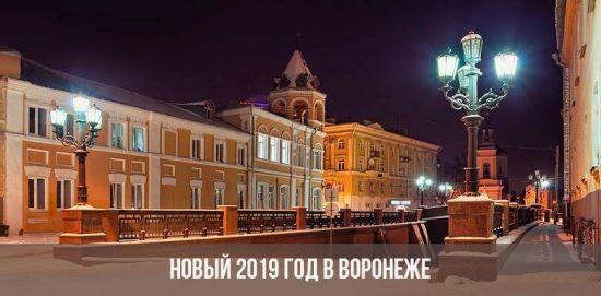 Новый год в Воронеже