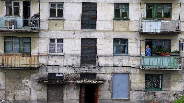 Московская хрущевка под снос