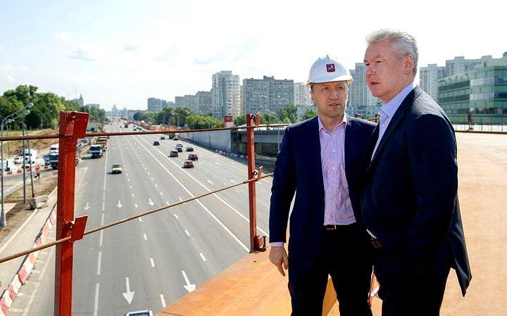 Сергей Собянин и Андрей Бочкарев