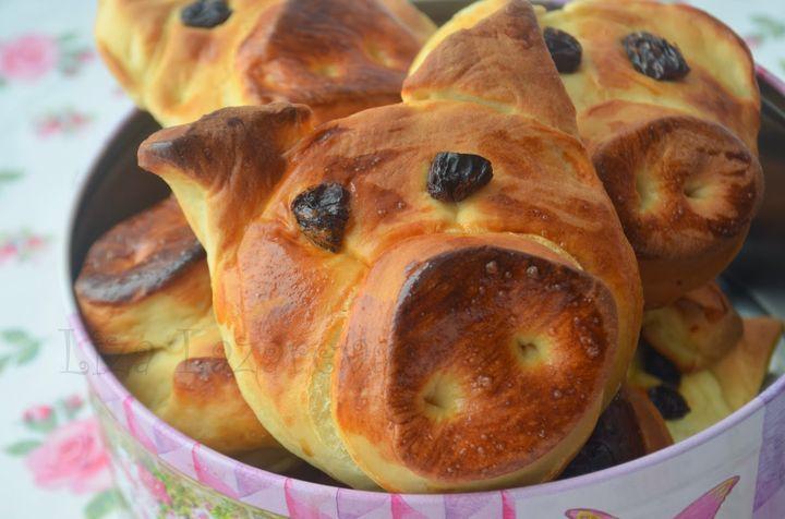 Печенье в форме поросят