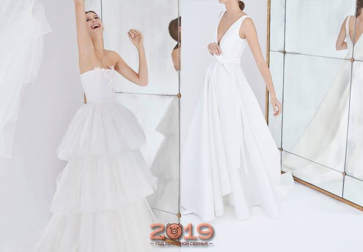 Carolina Herrera свадебная мода 2018 -2019