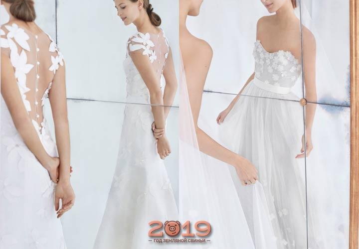 Модное платье невесты от Carolina Herrera