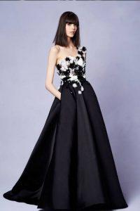 Черное свадебное платье 2018-2019 года