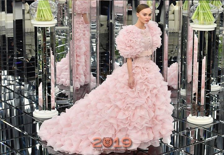 Пышное свадебное платье на 2019 год