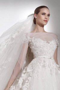 Модная фата невесты 2018-2019 год