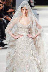 Фата свадебная мода 2018-2019 года
