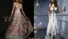Свадебное платье с вышивкой 2018-2019