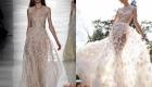Кружевное свадебное платье 2018-2019